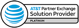 ATT Platinum Solution Provider Badge